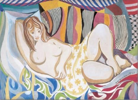 mulher-reclinada-1968-di-cavalcanti